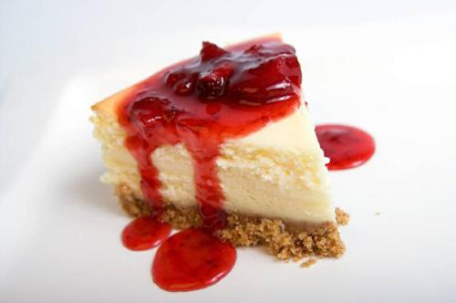 Tarta de queso con fresas - Masiá Ciscar