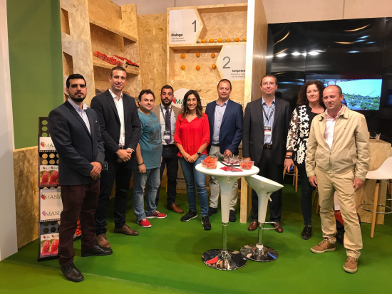 Balance satisfactorio de la presencia de Masia Ciscar en Fruit Attraction 2017 - Masiá Ciscar