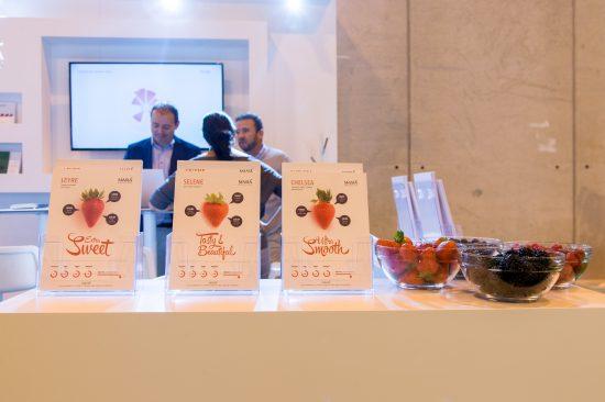 Masiá Ciscar presenta con éxito sus nuevas variedades propias de fresa en Fruit  Attraction - Masiá Ciscar