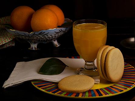 Galletas de naranja - Masiá Ciscar
